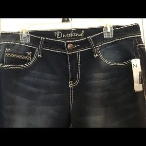New Directions Ladies Jeans NWT